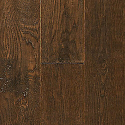 3/4 x 5 Castle Hill Oak Distressed Solid Hardwood Flooring